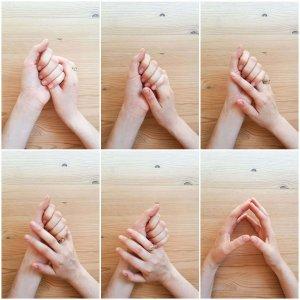 מדיטציית אחיזת אצבעות